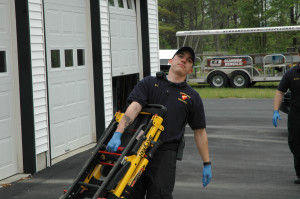 EMT with chair lift